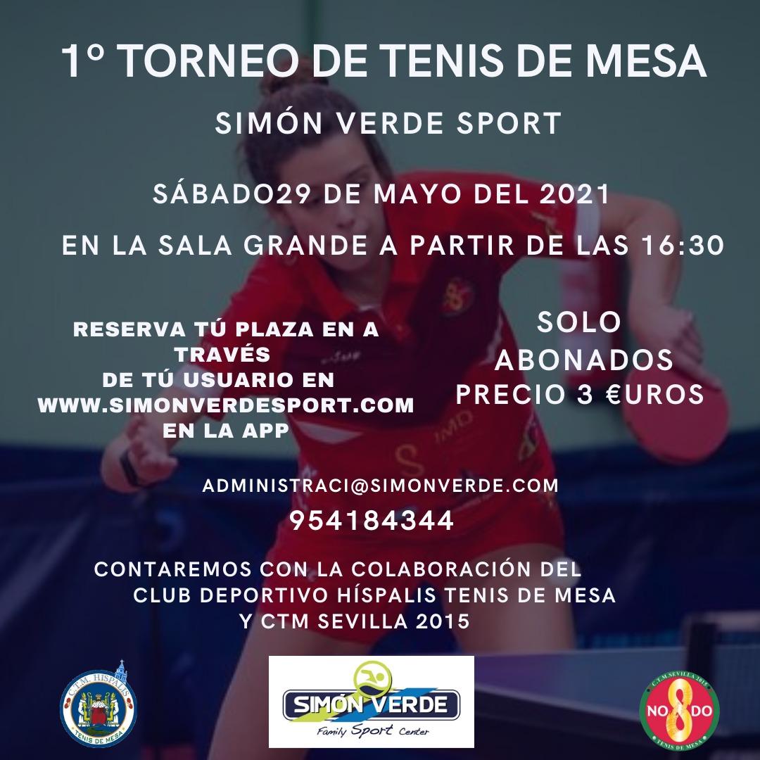 1º Torneo de Tenis de Mesa